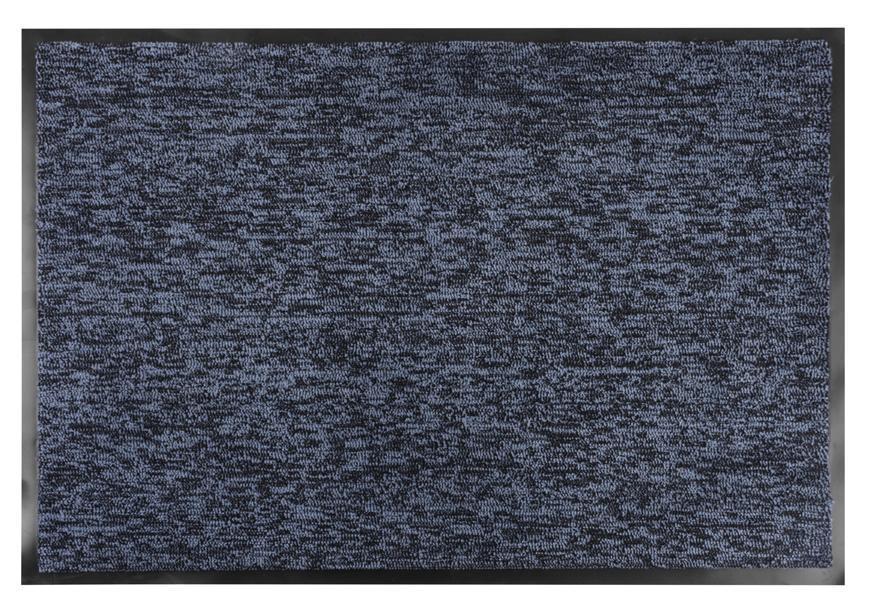 Rohožka MagicHome CPM 305, 60x90 cm, čierna/modrá