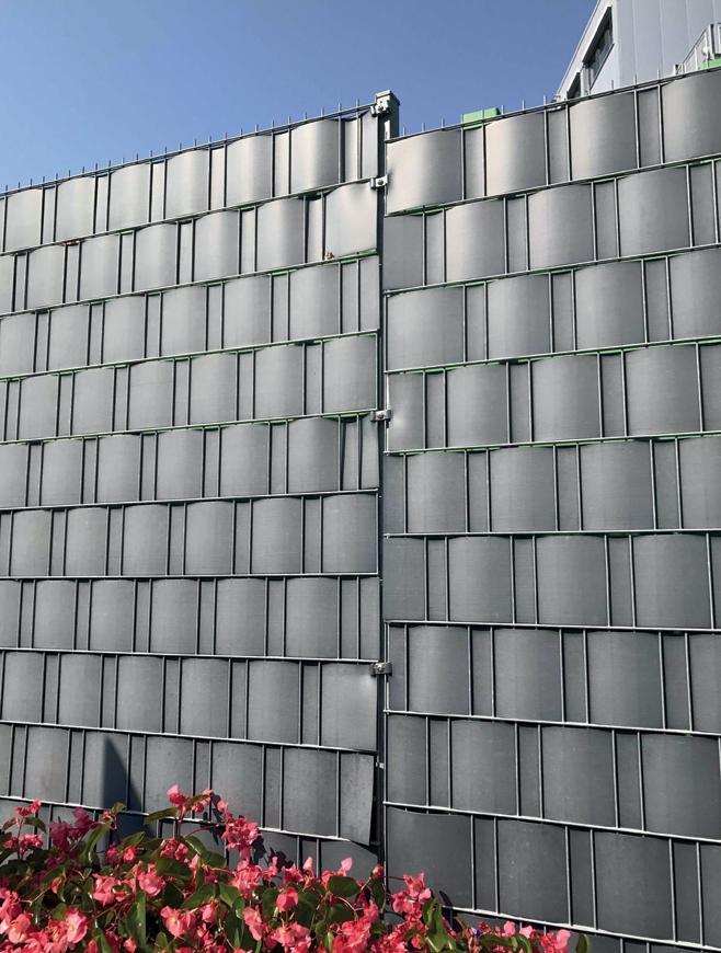 Páska EUROSTANDARD, 193g/m2, PVC 19 cm, tieniaca, antracit, krycia, k plotovým panelom, bal. 26 m, R