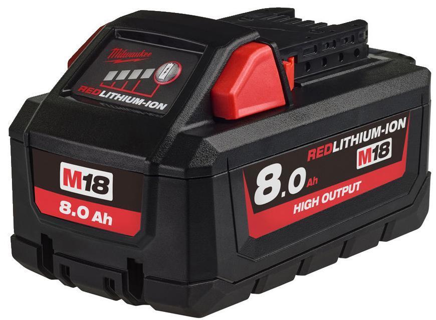 Akumulator Milwaukee M18 HB8 Li-ion, 18V, 8.0 Ah