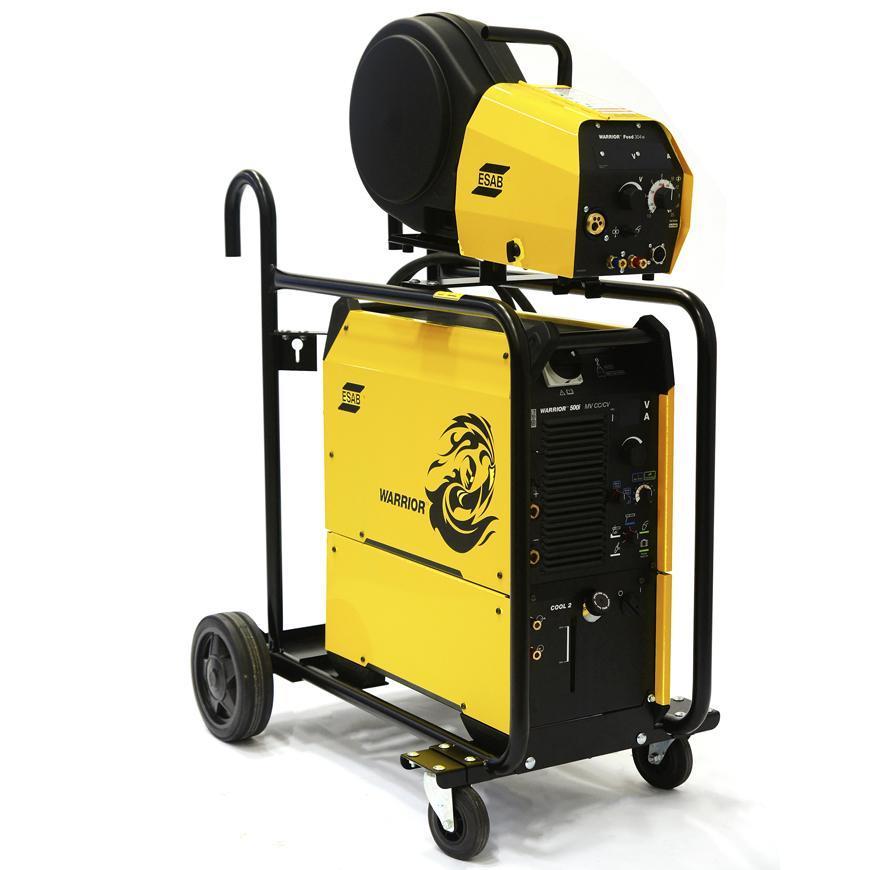 Zvaracka ESAB Warrior™ 500i CC/CV, chladenie, podavac, vozik