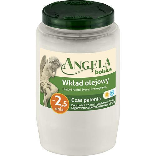 Napln bolsius Angela NR03 biela, 55 h, 150 g, olej