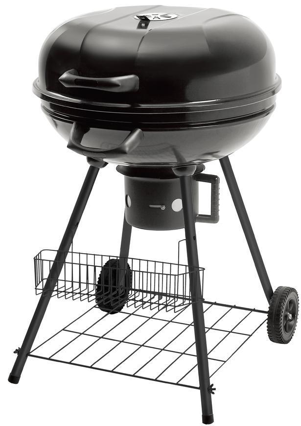 Gril Strend Pro Oliver, BBQ, na drevené uhlie, 540x570x920 mm