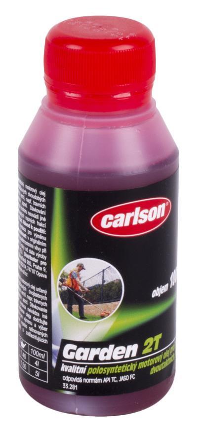 Olej carlson® GARDEN 2T, API TC, 0100 ml