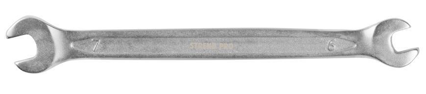 Kluc Strend Pro 3113 06x07 mm, vidlicový, Cr-V