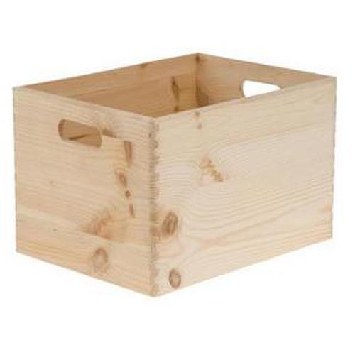 Krabica drevena, 30x20x14 cm