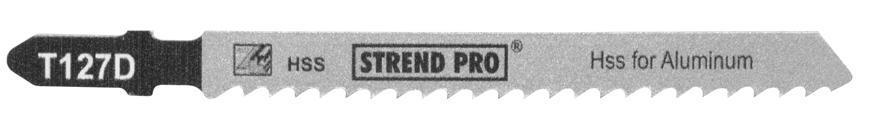 List do priamočiarej píly Strend Pro T127D 100 mm, 8z, na kov, bal. 5 ks