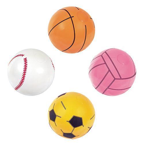 Lopta Bestway® 31004, Sport Beach Ball, nafukovacia, do vody, detská