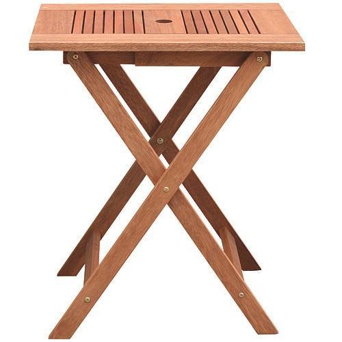 Stôl LEQ BORREN, 45x60x72 cm, drevený