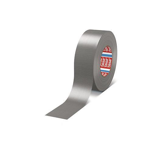 Páska tesa® PRO Gaffer, textilná, strieborná, PE, 50 mm, L-25 m