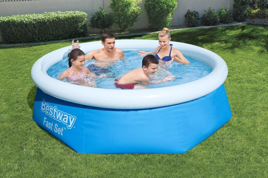 Bazén Bestway® 57265, nafukovací, 2,44x0,66 m