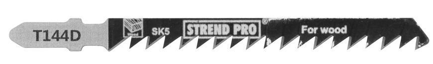 List do priamočiarej píly Strend Pro T144D 100 mm, 6z, na drevo, bal. 5 ks