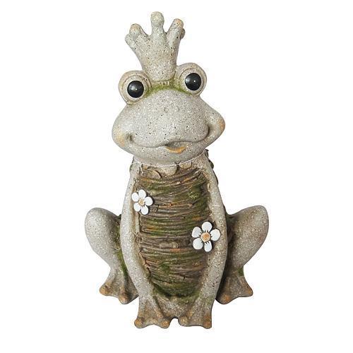 Dekoracia Gecco 8104, Kráľovná Žaba, magnesia, 43 cm