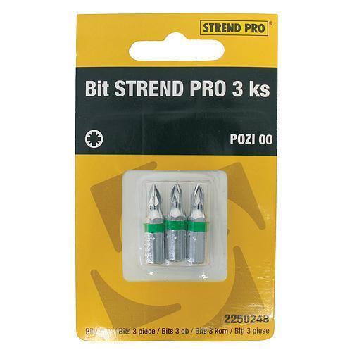 Bit Strend Pro Pozidriv 02, bal. 3 ks
