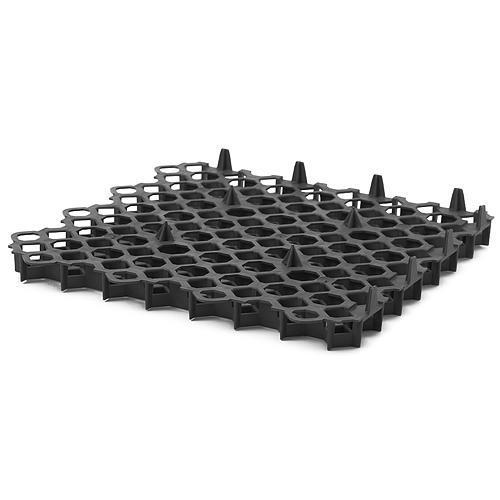 Mriežka zatrávňovacia GardenPUZZLE II, 500/39 mm, čierna, UV