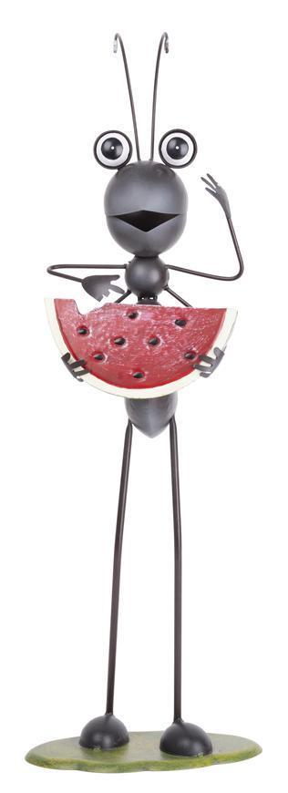 Dekoracia Mecco 6325, Mravec s melónom, 61 cm, plech