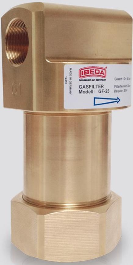 """Filter Messer GF-T Acetylen, G1""""RH, vysokoprietokovy 250m3/hod"""