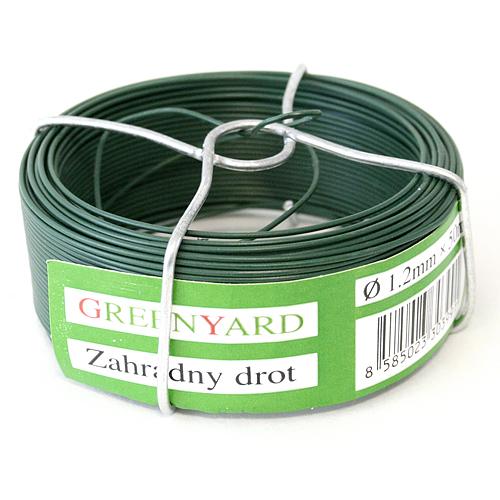 Drot Garden Wire Pvc 0,80 mm, L-75 m, SC, cievka