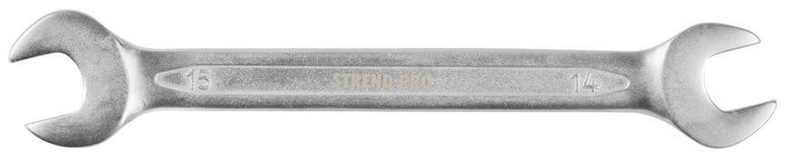 Kluc Strend Pro 3113 14x15 mm, vidlicový, Cr-V