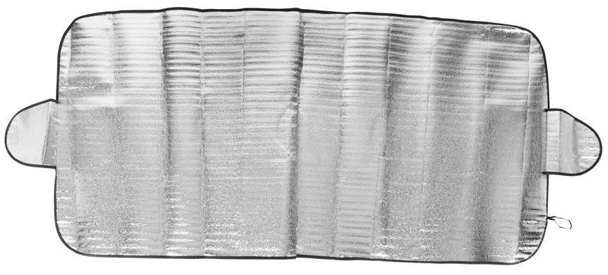 Clona na čelné sklo auta 70x150 cm, s presahmi, Alu