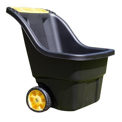 Vozík Keter® SUPER PRO 150L, 68,5x73x91,5 cm, čierny, na záhradný odpad