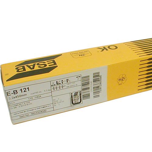 Elektródy ESAB EB 121 5,0/450 mm, 6.5 kg, 70 ks, 3 bal.