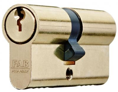 Vložka cylindrická FAB 200RSBD/40+40 , 3 kľúče, stavebná