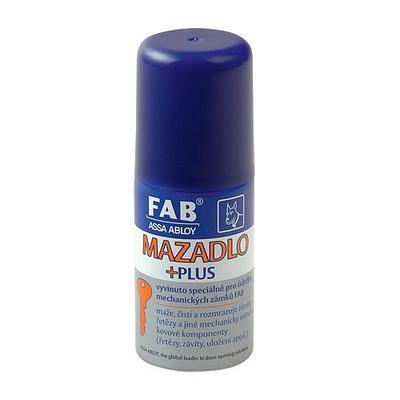 Mazadlo na zámky FAB 125 ml