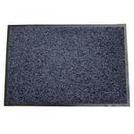 Rohozka MagicHome CPM 305, 60x90 cm, čierna/modrá