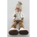 Postavicka Chlapec s plátennými nohami, terakota, 8.5 cm
