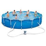 Bazen Bestway® 56595, 4,27x0,84 m, filter, pumpa