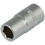 """Hlavica whirlpower® 16121-11, 09.0 mm, 1/4"""", Cr-V, 6point, predĺžená"""