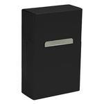 Krabicka na cigarety, čierna