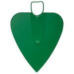Motyka G284D-WH, srdcová, s násadou