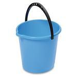 Vedro DEAhome Secchio 10 lit, modré, s výlevkou