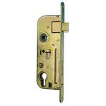 Zamok TESLA V6090/40 P Zn, 90/60/40 mm, vložka