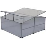 Parenisko Greenhouse HF0942-A, 100x100x040 cm, PC