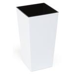 Kvetinac FINEZJA, 190x190x360 mm, biely