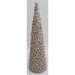 Dekoracia TreeCone45.Champ, šampaň, bobuľky, 45 cm