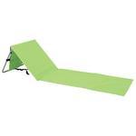 Podlozka DOMINICA, zelená, 150x51 cm, 13 mm, plážová
