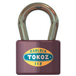 Zamok Tokoz 112/50, visiaci, 3 kľúče
